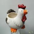 Csirke cserép fehér