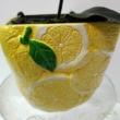Citrus limon sárga cserépben